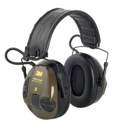 Peltor WS SportTac Bluetooth® kuulonsuojain, kokoontait., päälakisanka, vihreä