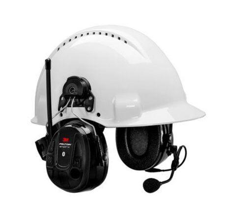 Peltor WS Alert XP Bluetooth headset , kypäräkiinnitys
